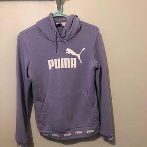 Violet puma sweater